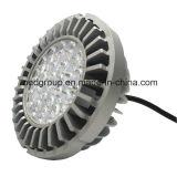 3 년 보장을%s 가진 알루미늄 방열기 Osram S5 LED AR111 20W Gx8.5 LED 반점 빛