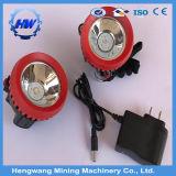 La tapa de la minera de LED lámpara de casco de trabajo del minero la minería de la luz de faro