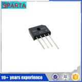 Kbu1010 диод выпрямителя тока выпрямителя по мостиковой схеме 10A 50V~1000V