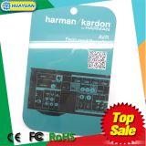 Étiquettes de vêtement d'IDENTIFICATION RF de fréquence ultra-haute de CPE Class1 Gen2 d'impression des textes
