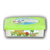 Chiffons simples de nettoyage de bébé d'emballage de l'emballage 72PCS