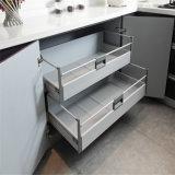 N u. L purpurrotes Klavier angestrichener Küche-Schrank