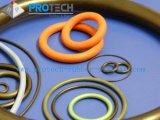 Las pequeñas juntas tóricas de caucho de silicona