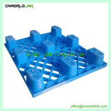 1000 kg Load Skids Plastic One-Way Packing Metal disc