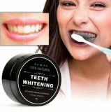 Natürliche betätigte Bambusholzkohle für den Zahn/Zähne, die Puder weiß werden