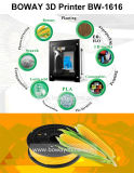 Una universidad de la impresión del botón que modela impresora barata multicolora del estirador 3D del PLA de la máquina la sola