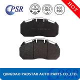 Almofada de freio quente do caminhão da placa traseira de ferro de molde da venda