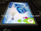Casella chiara di film del blocco per grafici di alluminio della foto