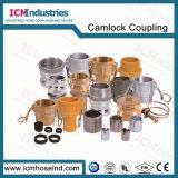accoppiamento rapido del Camlock dell'acciaio inossidabile 304 316 per il tubo flessibile piano posto PVC