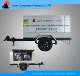 Compressor de ar portátil com movimentação Diesel