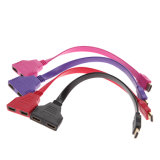 HDTV DVD를 위한 2 밖으로 Splitter Cable Adapter Converter에서 2 Female 1에 30cm 1080P HDMI Male