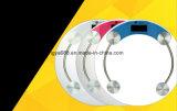 33cm rétro-éclairage grand rond en verre Corps de santé de l'échelle de poids corporel pour cadeau Logo personnalisé