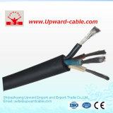 Высокой кабельная проводка проводника Quanlity гибкой медной изолированная резиной