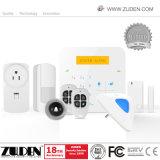 Antirrobos inalámbrica GSM de alarma de seguridad del hogar con teclado
