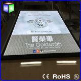 보석과 Posters Advertizing Light Box Slim Light Box Magnetic