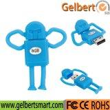 Bester Preis Belüftung-Plastikkarikatur-Roboter USB-Computerzubehör