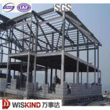 Estructura de acero galvanizada casa prefabricada de Wiskind