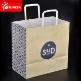 Marca personalizadas bolsas de papel impreso Eco friendly