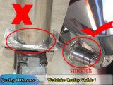 tanque 300L de aço inoxidável com misturador