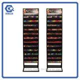 Einzelhandelsgeschäft-Handelsbildschirmanzeige-Metallnagellack-freie Zahnstangen-Stellung