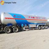 60 cbm 3 ejes de almacenamiento de gas tanque cisterna semi remolque