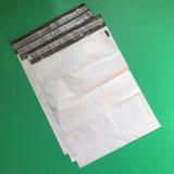PE Mailing sac en plastique blanc avec des joints de renforcé