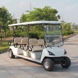 Carro de golf eléctrico de 8 pasajeros (DG-C6+2) con CE