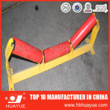 品質の確実なゴム製コンベヤーベルト付けシステムローラーの直径89-159mmカラー黒の赤Huayue