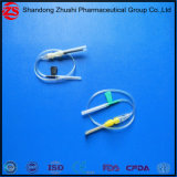 Tipo Caneta médicos descartáveis de coleta de sangue de injeção de Dispositivos Médicos IV agulha tipo borboleta de segurança
