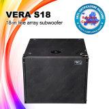 Vera S18 de Spreker van het Ontwerp van de Doos van Subwoofer van 18 Duim
