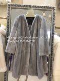 Stock de peles Personalizado Parka Inverno moda muito real de peles de vison mulheres cubra (H1916)
