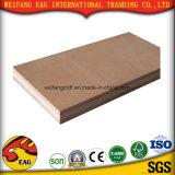 Madera comercial los álamos / Birch / Pine 1220*2440*17mm para los muebles de madera contrachapada