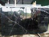 De natuurlijke Plak Marquina van het Bouwmateriaal van de Steen Zwarte Marmeren