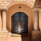 Porte grillagée faite sur commande fabriquée à la main gentille de garantie de fer pour la Chambre