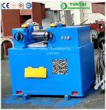 Xk-160X320 máquina de borracha do equipamento de teste do misturador do moinho de mistura do rolo do laboratório dois