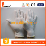 Ddsafety 2017 gants moyens légers de sûreté de gants de défilé d'inspecteur de coton de poids