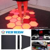 대화식 LED 춤 전시 지면