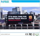 Nse que hace publicidad de la visualización de LED al aire libre P10, Van publicitario móvil