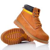 Zapatos de seguridad de moda de Goodyear con el casquillo de acero M-8173 de la punta