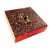 金および銀のボール紙のペーパー包装ボックス