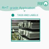 高温鋼鉄ラベル、鉄のための耐熱ラベル