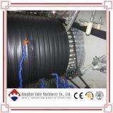 Plástico PE bobinado de extrusión de tubo de acero que hace la máquina