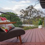 Plataforma composta plástica de madeira para o Decking ao ar livre do terraço WPC do balcão