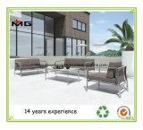 Repelente de agua al aire libre Muebles de Jardín Sofá con patas de metal