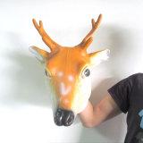 Маска Halloween, маска оленей, животная маска, польностью головная маска, взрослый маска