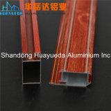 Perfil de alumínio da grão 6063 de madeira para o fornecedor de China da porta