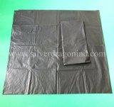 Grandi sacchetti di plastica riciclati su ordinazione dei rifiuti/immondizia/rifiuti, prezzo basso
