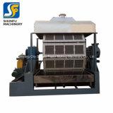 1500-1700pieces por la cadena de producción de máquina de papel del cartón de la bandeja del huevo de la hora equipo