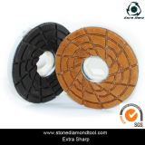Snail Lock Resin Edge Polishing Pad
