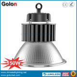 150W 25 60 100 Degré réflecteur Couvercle en verre dépoli clair 100-277V Haut de la baie industrielle de l'éclairage à LED